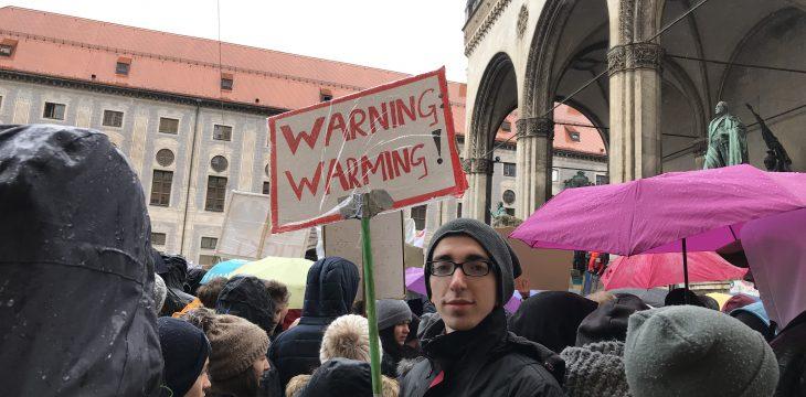 Kreativität auf der Demonstration