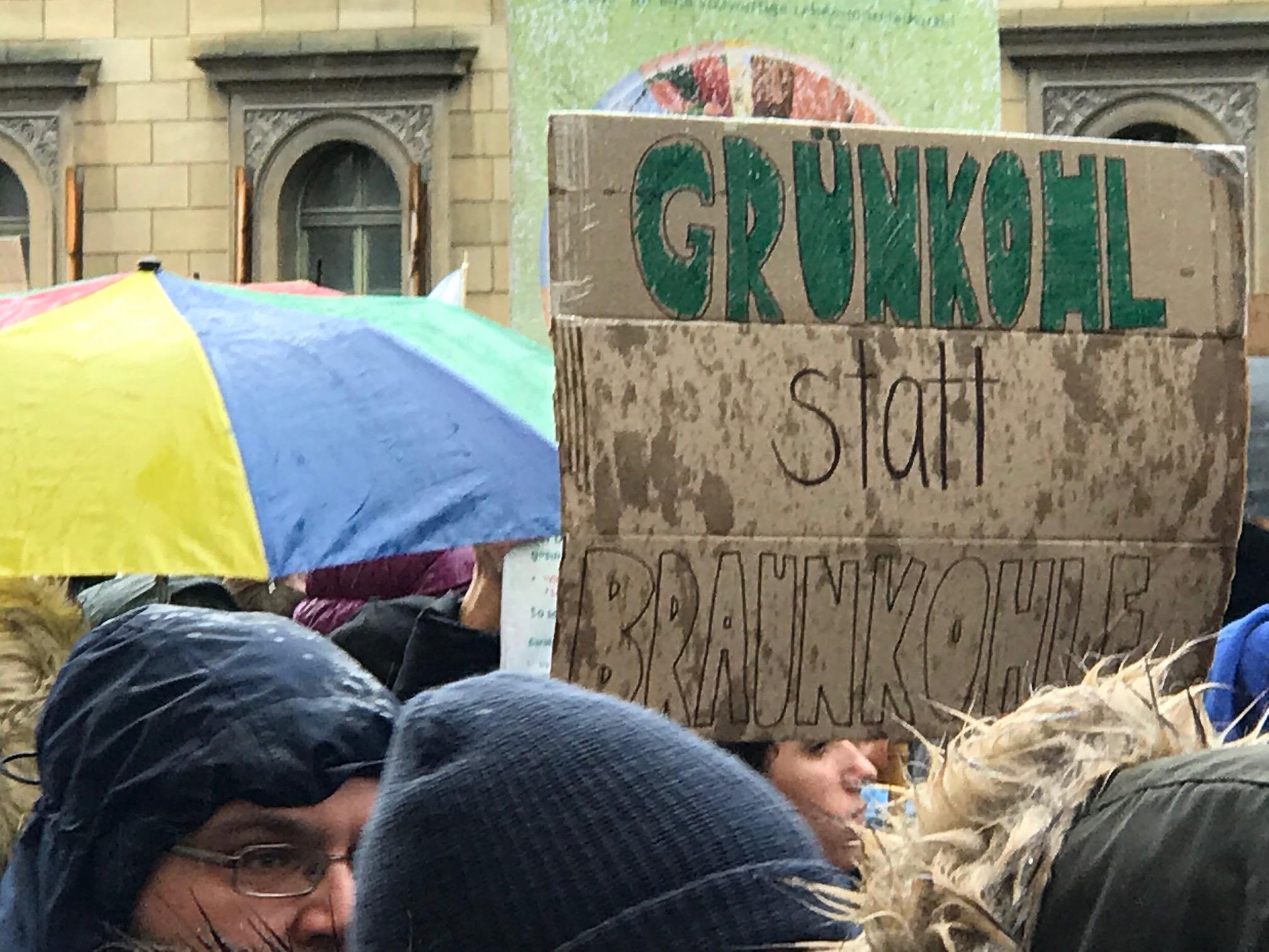 Demonstration für Umwelt in München