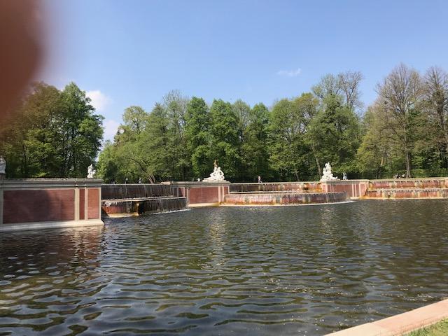Kaskaden im Schlosspark