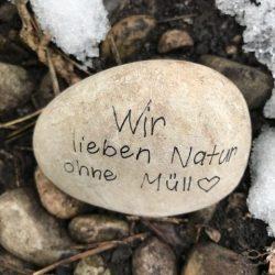 Macht Freude, so einen Stein zu finden